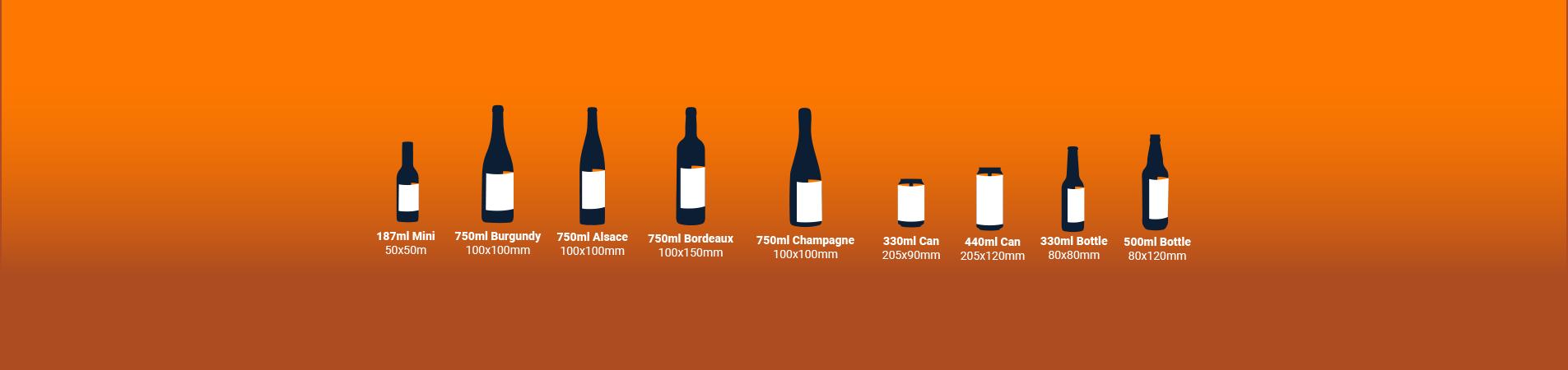 Bottle & Can Labels