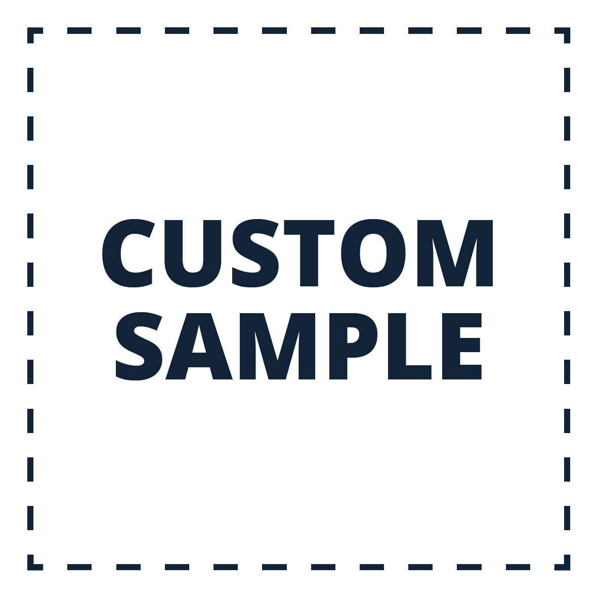 Custom Samples - £25.00 per material