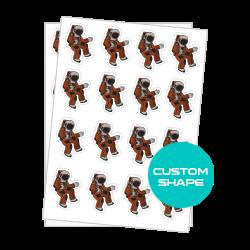 Custom Shape Labels