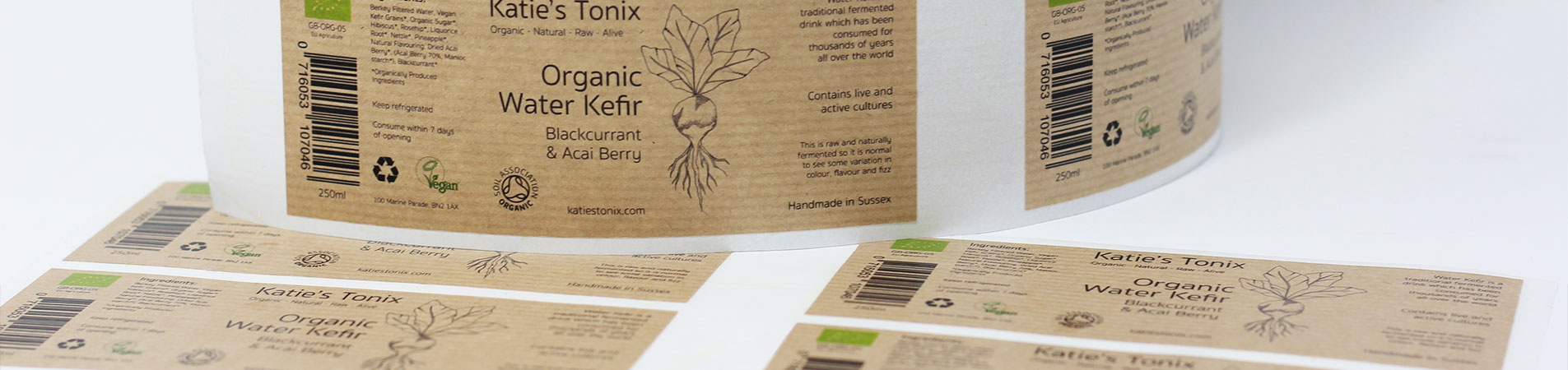 Kraft Paper Labels