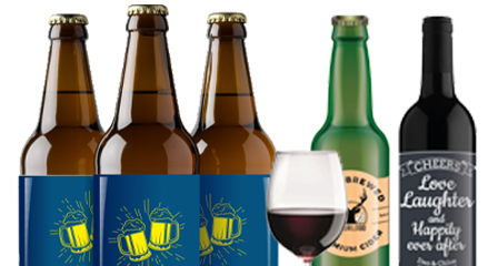 Beer & Wine Bottle Labels