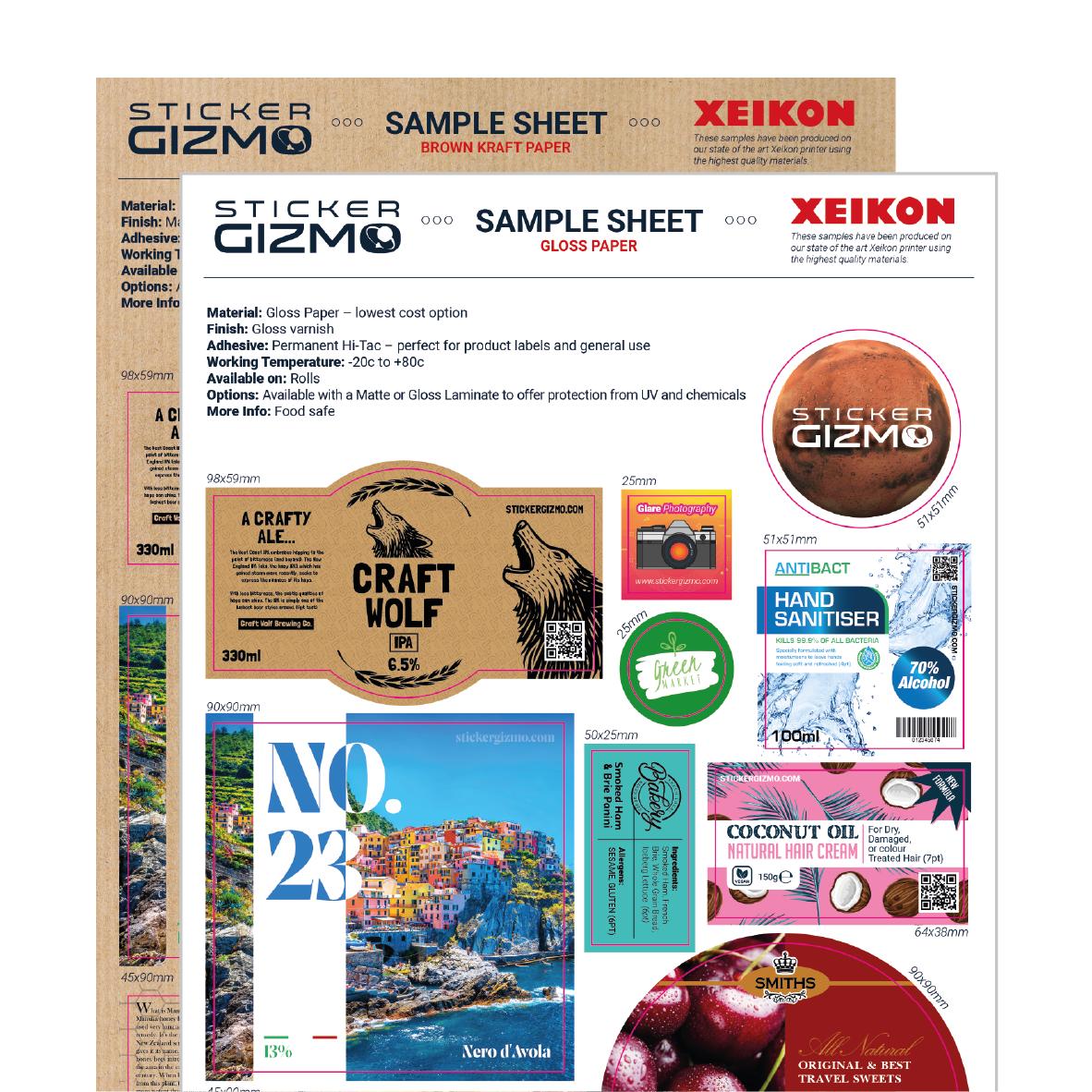 Standard Samples - £1.95 per material