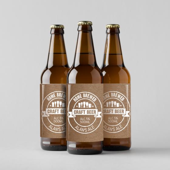 Personalised Beer Bottle Labels - Craft Beer