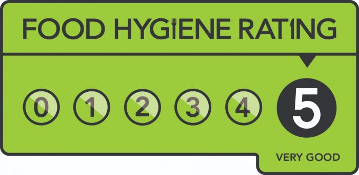 Food Hygiene 5 Van Sticker