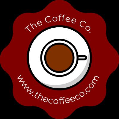 Coffee shop promotion stickers simple wavy edge sticker gizmo