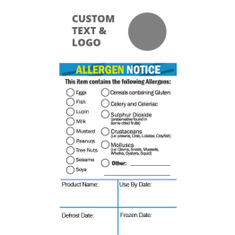 Allergen Tick Label (Large)