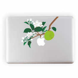 Apple Tree Vinyl Laptop ticker