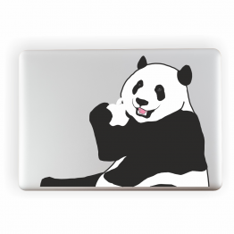 Panda Vinyl Laptop Sticker