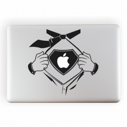 Superman Vinyl Laptop sticker