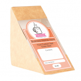 Sandwich Label (Arch) - Sunrise Design