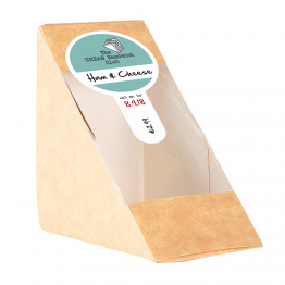 Sandwich Label (Lollipop) - Simple Colour Design