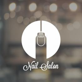 Nail Salon Window Sign