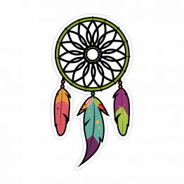 Dream Catcher Vinyl Sticker