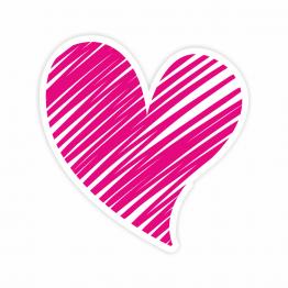 Heart Design 3 Vinyl Sticker