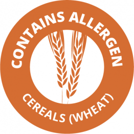 Allergen Labels - Contains Cereals - 35mm Single Sheet