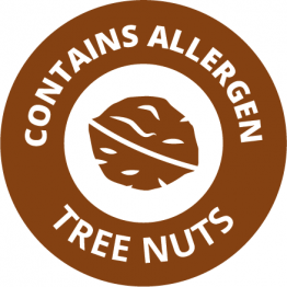 Allergen Labels - Contains Tree Nuts - 35mm Single Sheet