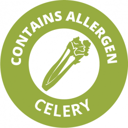 Allergen Labels - Contains Celery - 35mm Single Sheet