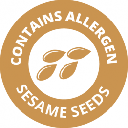 Allergen Labels - Contains Sesame Seeds - 35mm Single Sheet