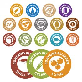 14 Allergen Bundle Pack – 35mm Circle