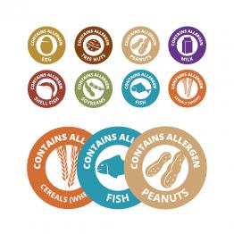 8 Allergen Bundle Pack – 35mm Circle