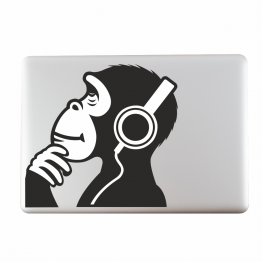 Ape Vinyl Laptop Sticker
