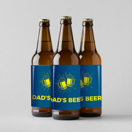 Personalised Beer Labels - Dad's Beer