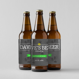 Personalised Beer Labels - Dave's Beer Design