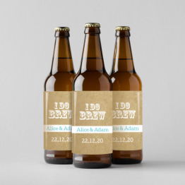 Personalised Beer Bottle Labels - I Do Brew