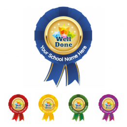 Well Done Rosette Stickers - Value Packs