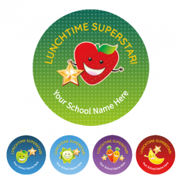 Lunchtime Super Star Stickers - Value Packs