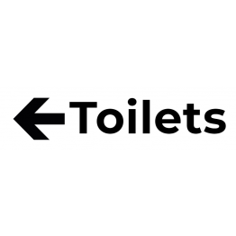 Toilet Left Sticker
