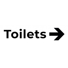 Toilet Right Sticker