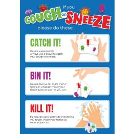 Cough or Sneeze Poster