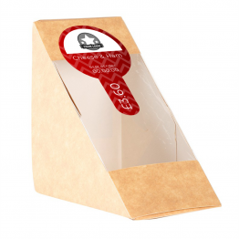 Sandwich Label (Lollipop) - Chevron Design