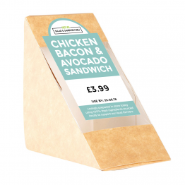 Sandwich Label (Arch) - Colour Block Design