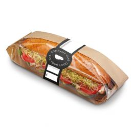 Baguette Wrap - Blackboard Design