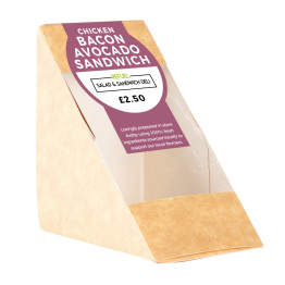 Sandwich Label - Colour Block Design