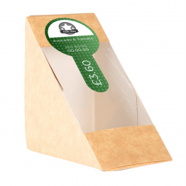 Sandwich Label (Lollipop) - Dot Design