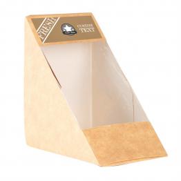 Sandwich Label (Small) - Brown Paper Design