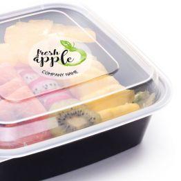 Clear Sticker - Fresh Apple