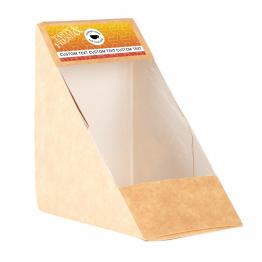 Sandwich Label (Small) - Geometric Design
