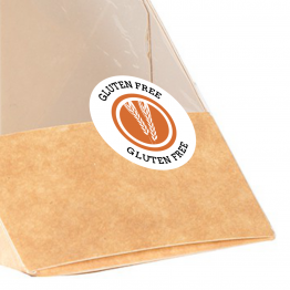 Allergen Label - Gluten Free