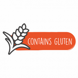 Food Allergy Labels - Contains Gluten