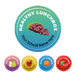 Healthy Lunchbox Stickers - Value Packs