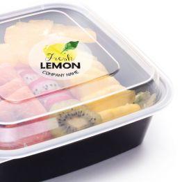 Clear Sticker - Fresh Lemon