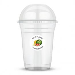 Clear Cup Sticker - Melon Juice