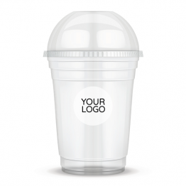 Clear Cup Sticker - Your Logo