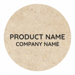 Product Label - Rough Paper