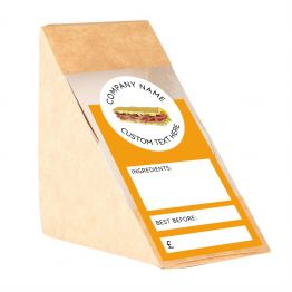 Sandwich Label (Arch) - Simple Design