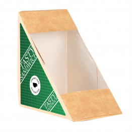 Sandwich Label (Triangle) - Dot Design